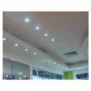 Kit 40 Spot LED 7W Cob Quadrado Branco Frio Embutir Direcionável Branco Frio