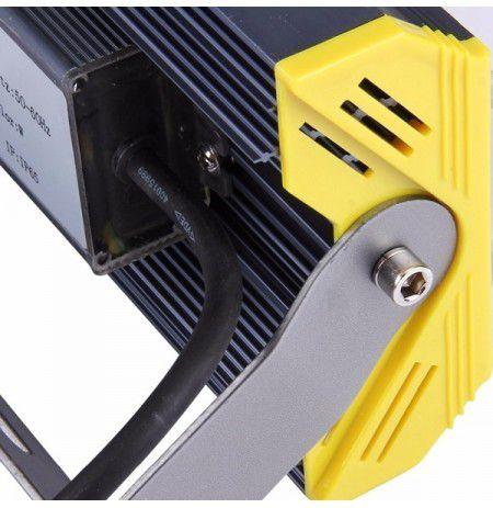 Kit 5 Refletores 100W LED Linear Blindado – A prova de água