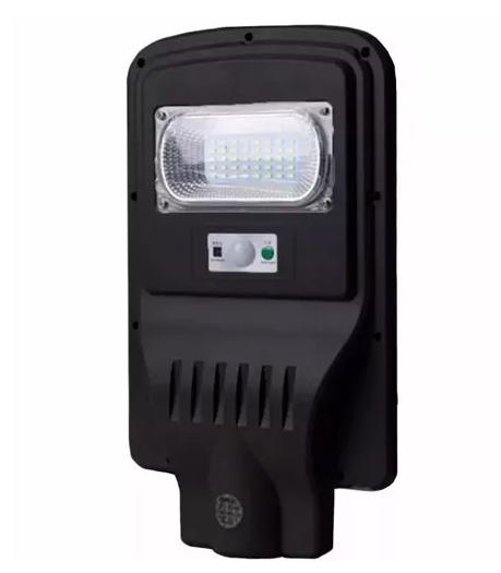 KIT COM 5 Refletor Luminária Pública Poste Solar Led 20w Com Sensor Number Two