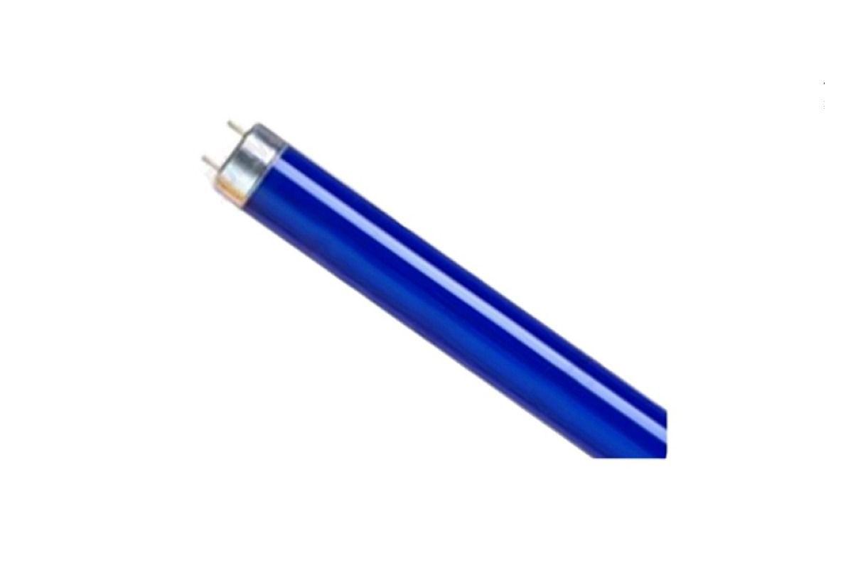 Lâmpada Led Tubular T8 Azul Aquário 120cm Bivolt 18w