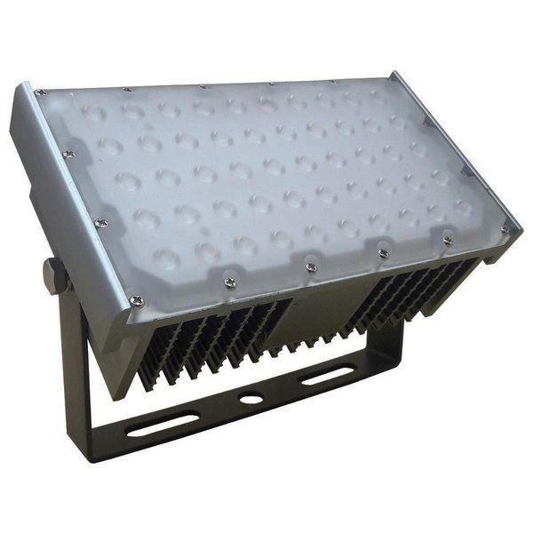 REFLETOR DE LED FLOODLIGHT 120W MODELO 2 BIVOLT IP68 6500K BRANCO FRIO RESISTENTE A ÁGUA