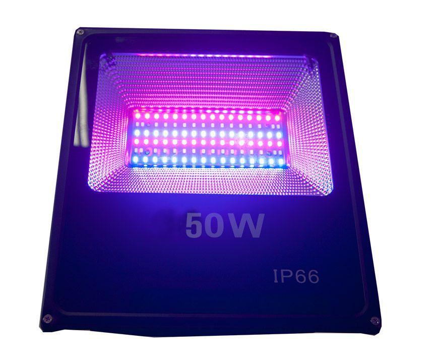 Refletor Holofote Micro Led 50w Smd Rgb Colorido Bivolt