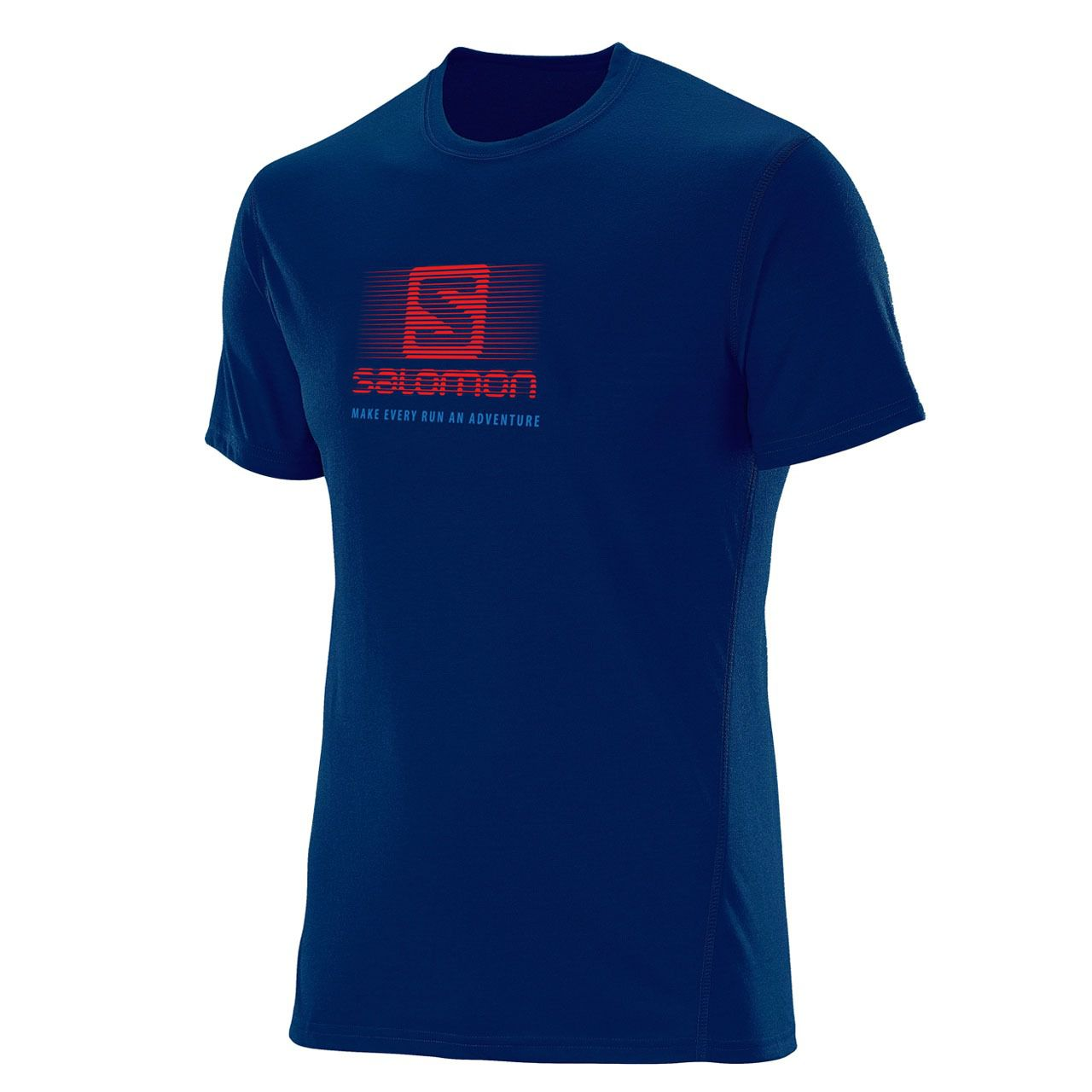 Camiseta  Salomon Running SS Noite