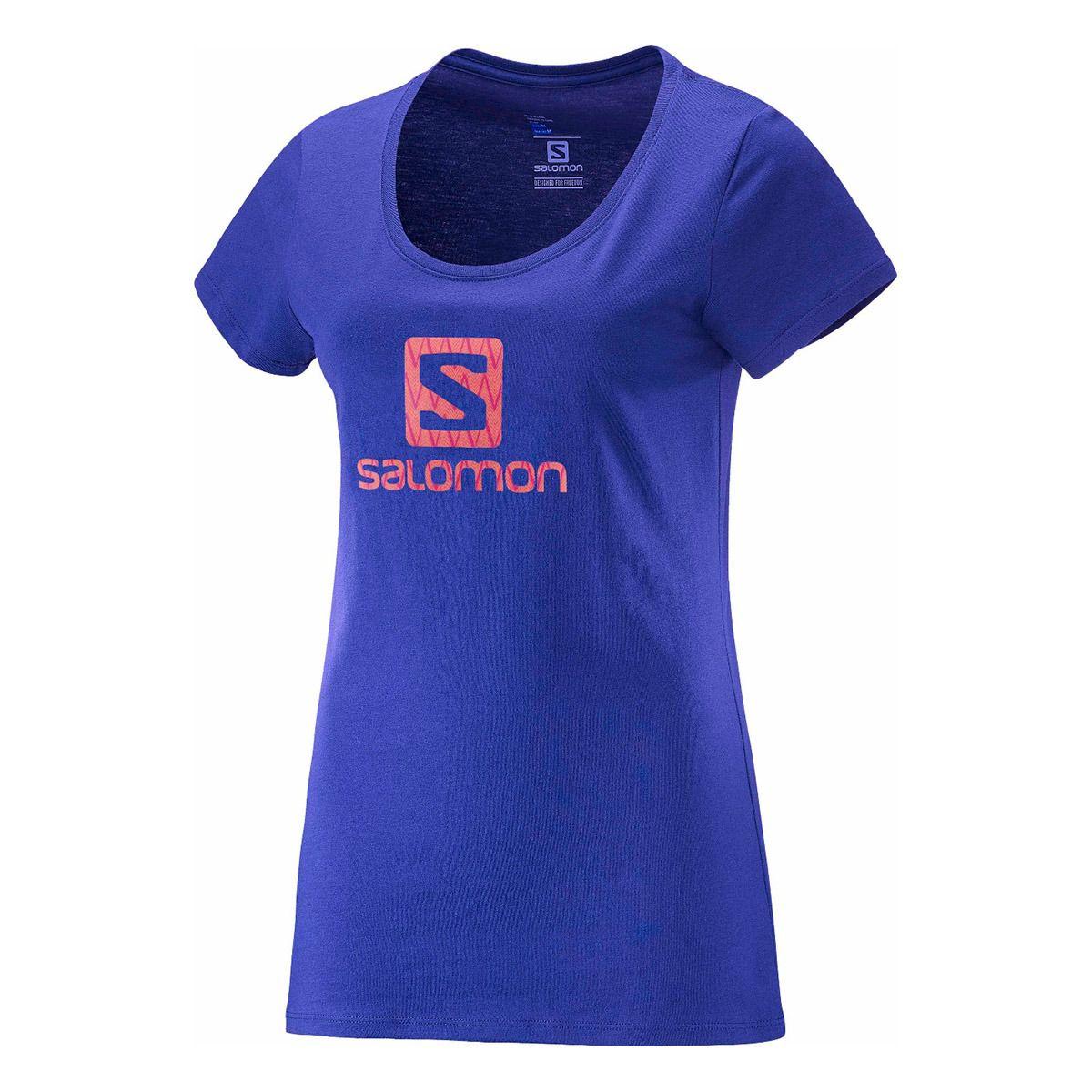 Camiseta  Salomon Logo SS Jasmin