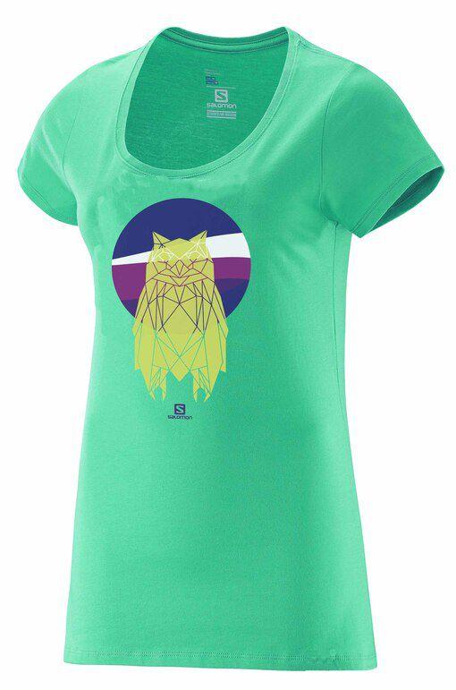 Camiseta Salomon OWL SS Fem