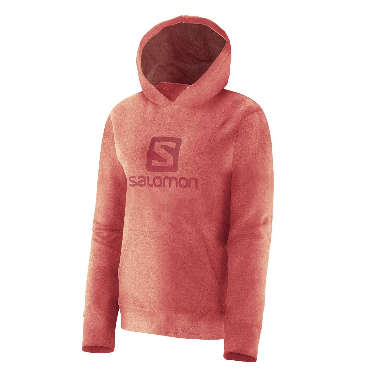 Fleece Salomon POLAR HOODIE F com capuz