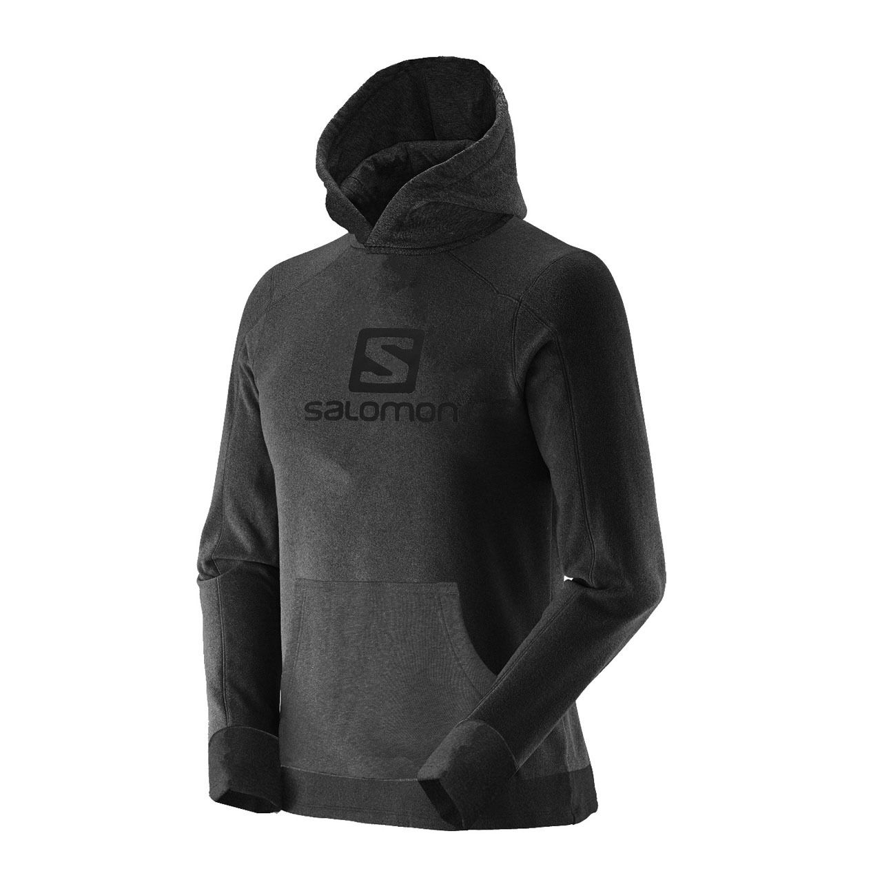 Fleece Salomon POLAR HOODIE M com capuz