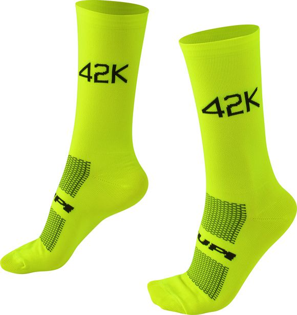 Meia HUPI 42K Amarelo Neon