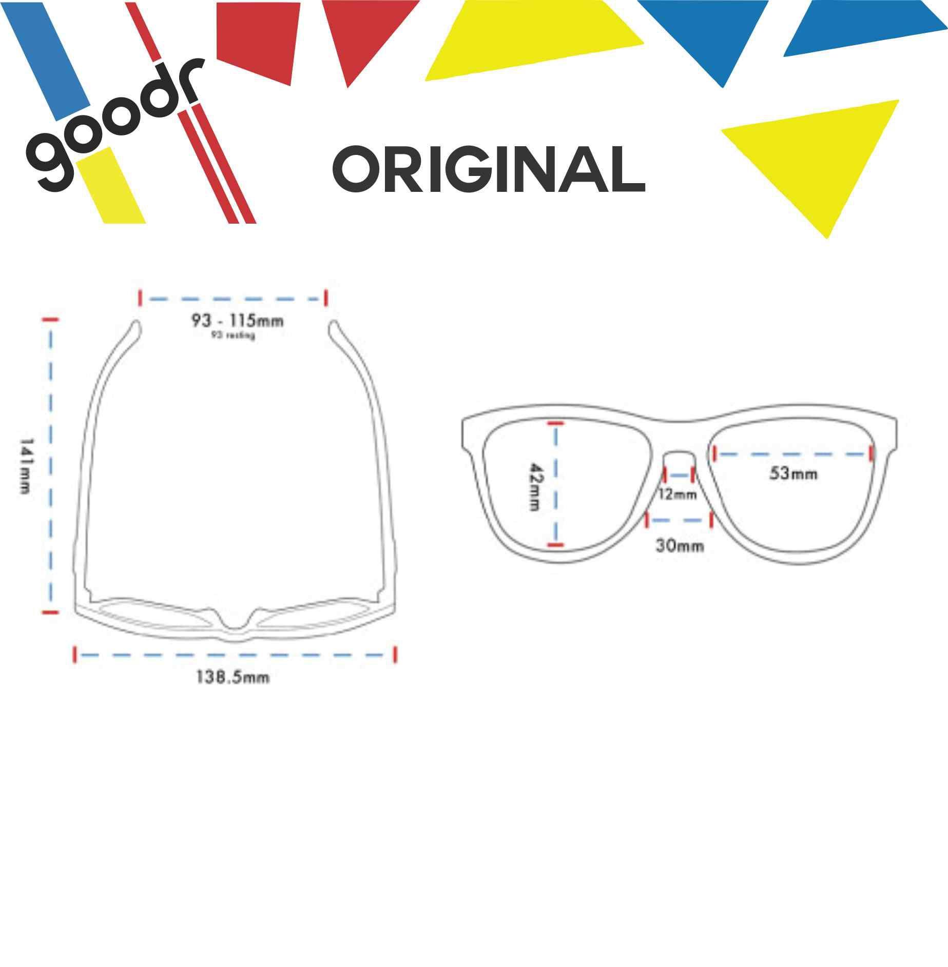 Óculos de Sol Goodr - Going to Valhalla... Witness!