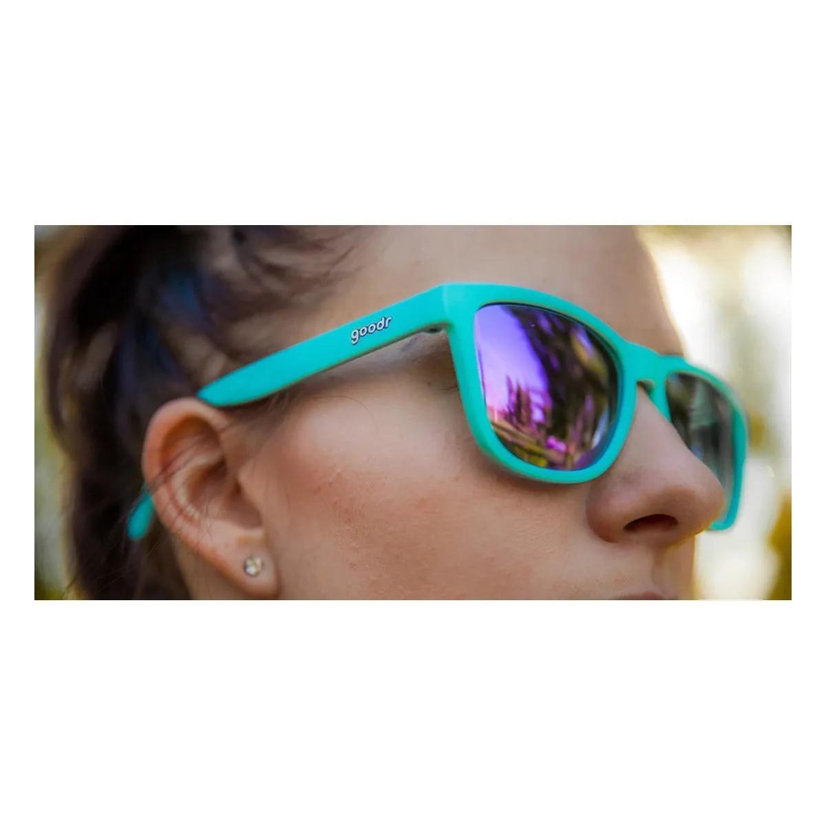 Óculos de Sol Goodr - Electric Dinotopia Carnival
