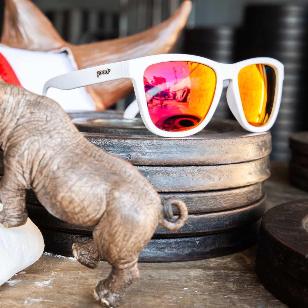 Óculos de Sol Goodr - Running - Albino Rhino Chalked Hooves