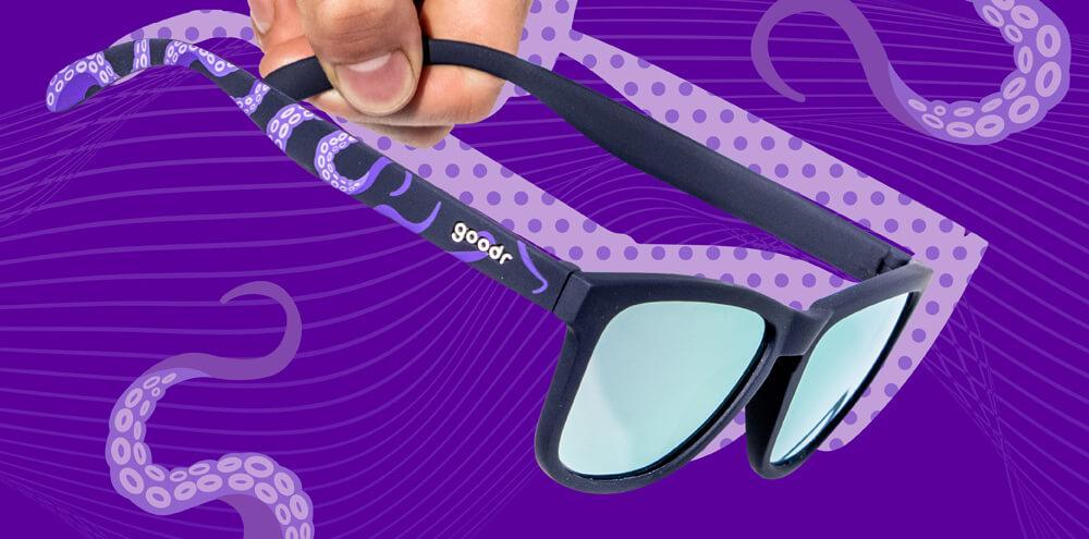 Óculos de Sol Goodr - Whats Snackin Kraken?