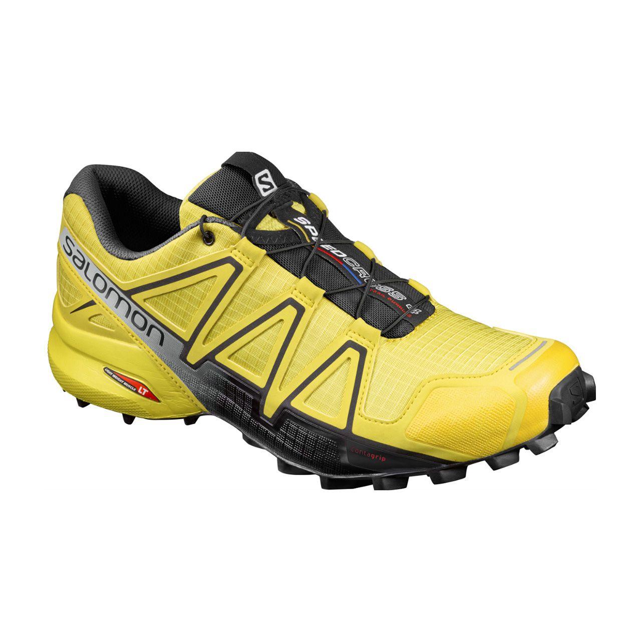Tênis Salomon Speedcross 4 - Amarelo/Preto
