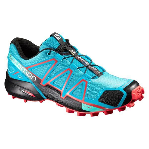 Tênis Salomon Speedcross 4 Fem - Azul Celeste/Preto