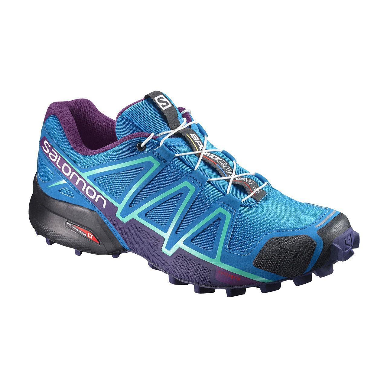Tênis Salomon Speedcross 4 Fem - Azul /Roxo