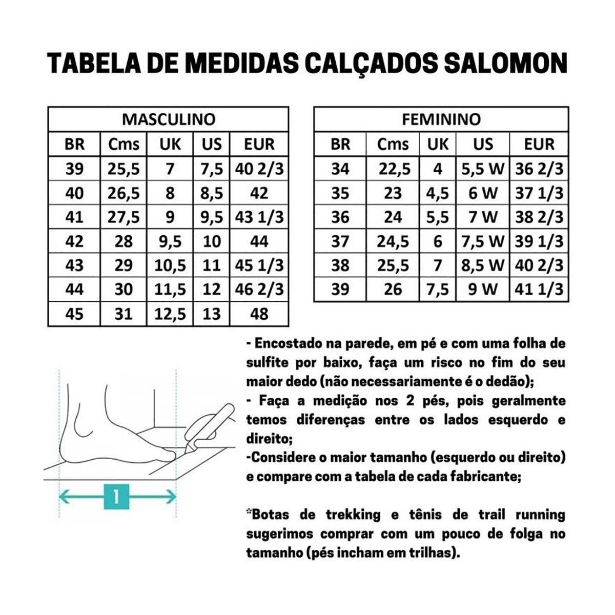 TÊNIS  SALOMON X RAISE GTX M PT