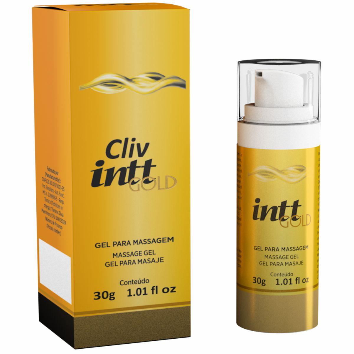 Cliv Intt Gold Gel Dessensibilizante Extra Forte 30g - Intt