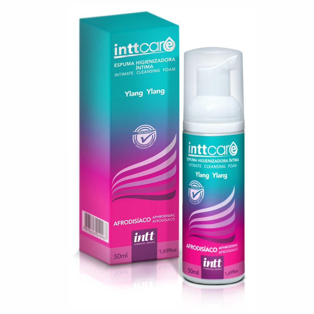 Espuma Higienizadora Intima Intt Care - Ylang Ylang 50ml