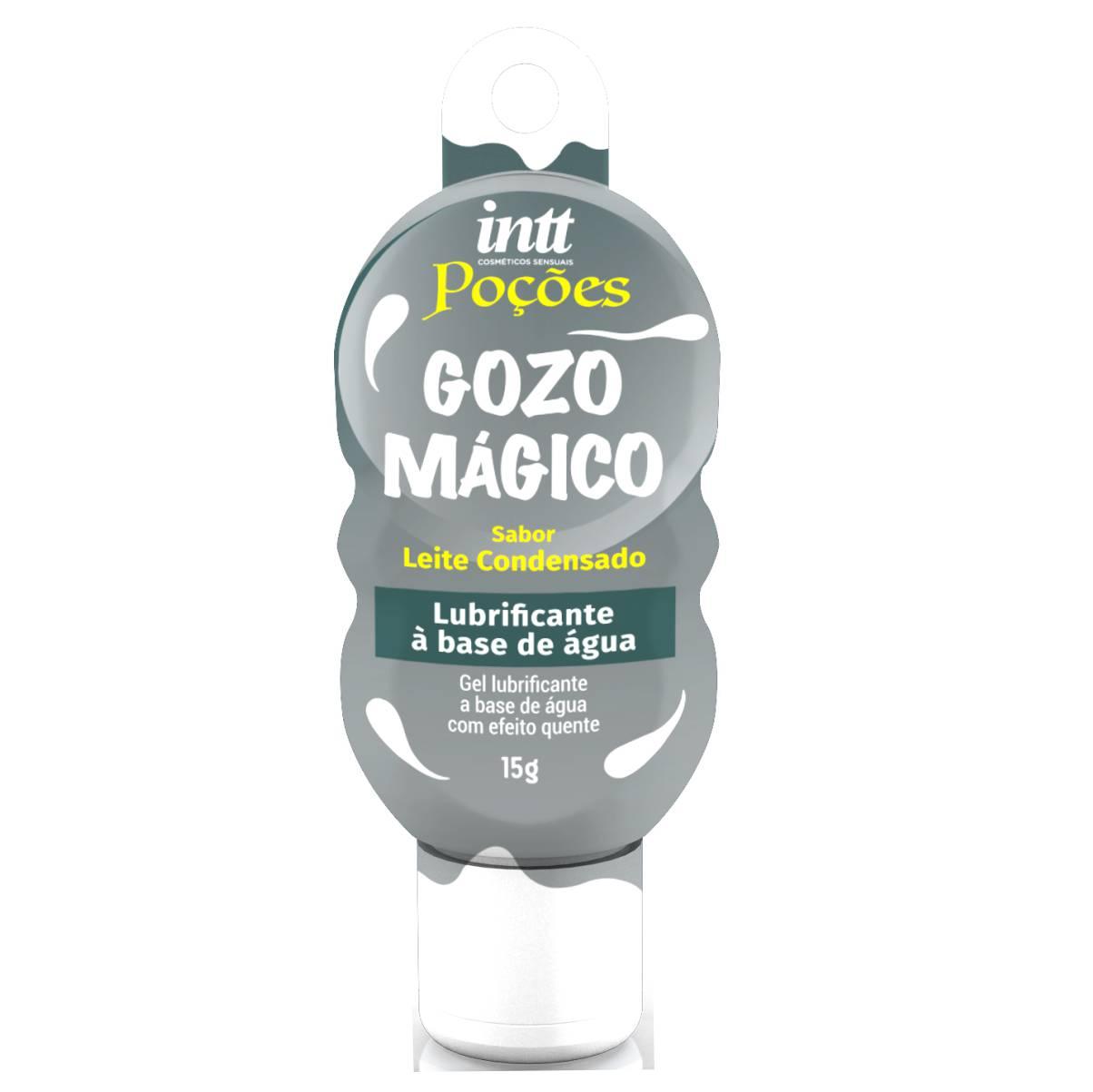 GOZO MÁGICO - Lubrificante à Base de Água sabor Leite Condensado - INTT