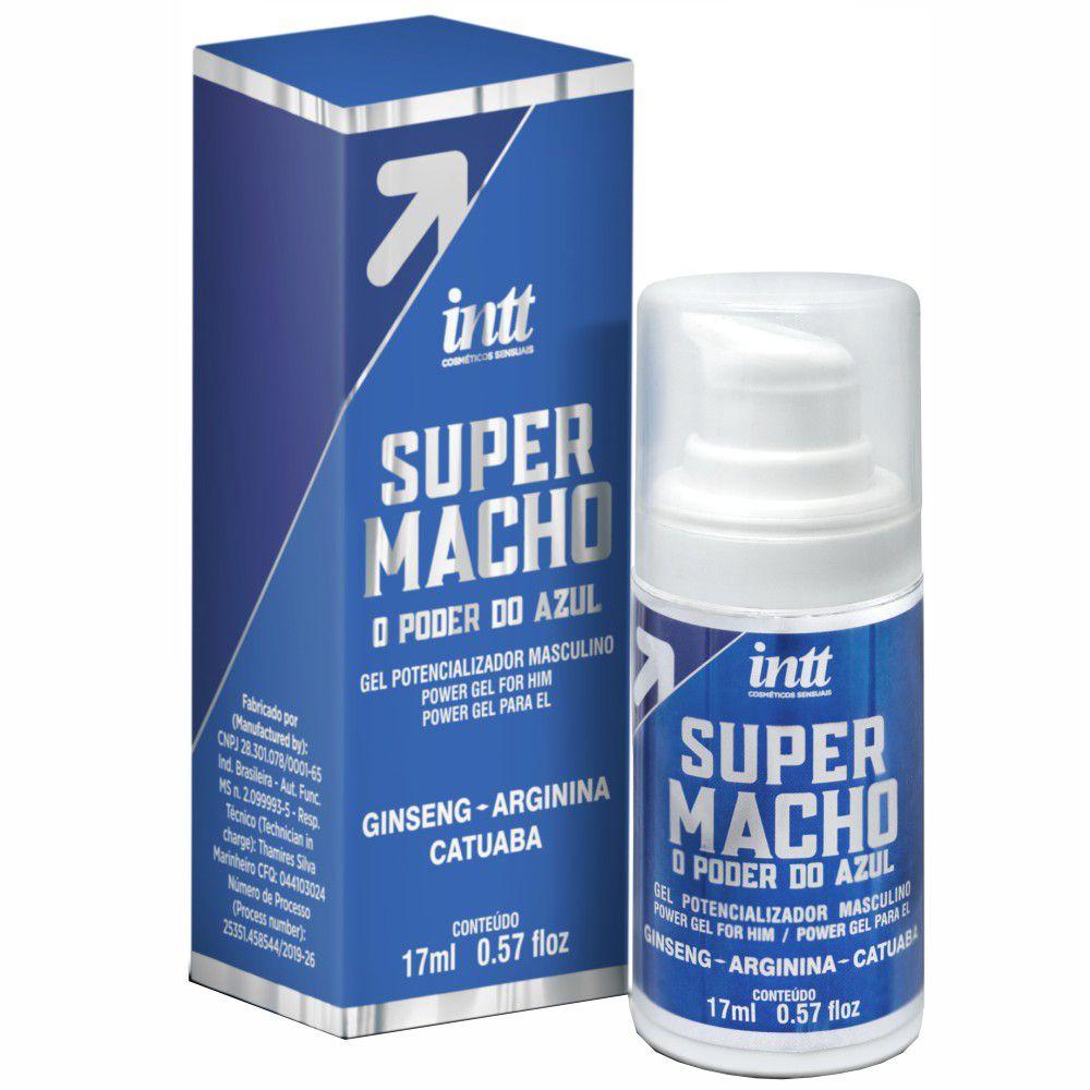 Super Macho Suplemento Potencializador Masculino Gel - Intt
