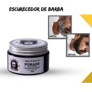 ESCURECEDOR de BARBA e CABELO-Disfarça Fios Brancos-100g - Entrega IMEDIATA.