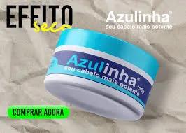 Azulinha Pomada modeladora - efeito seco 150g - Produto Original
