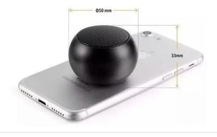 Caixinha de Som Portatil Bluetooth Mini Speaker Amplificada