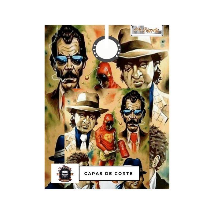 Capa de Corte de Cabelo - Mr Bigody