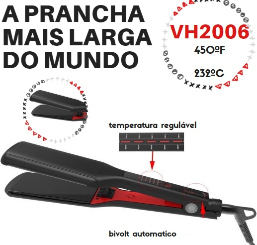 Chapinha/Prancha  Extra Larga Profissional Vh 2006 Envio Imediato