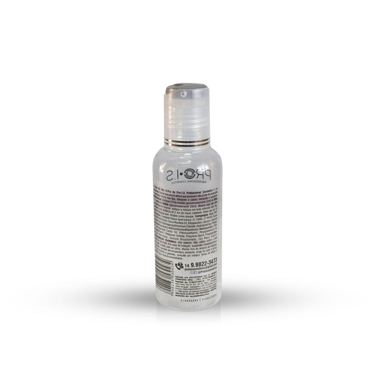 Elixir + Oxitrix Mousse para hidratação Capilar NC Mix V-Pro Pro I.S
