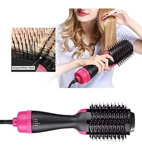 Escova Secadora Multifuncional 3 em 1 Seca Alisa e Modela  Hair Star Voltagem 127w