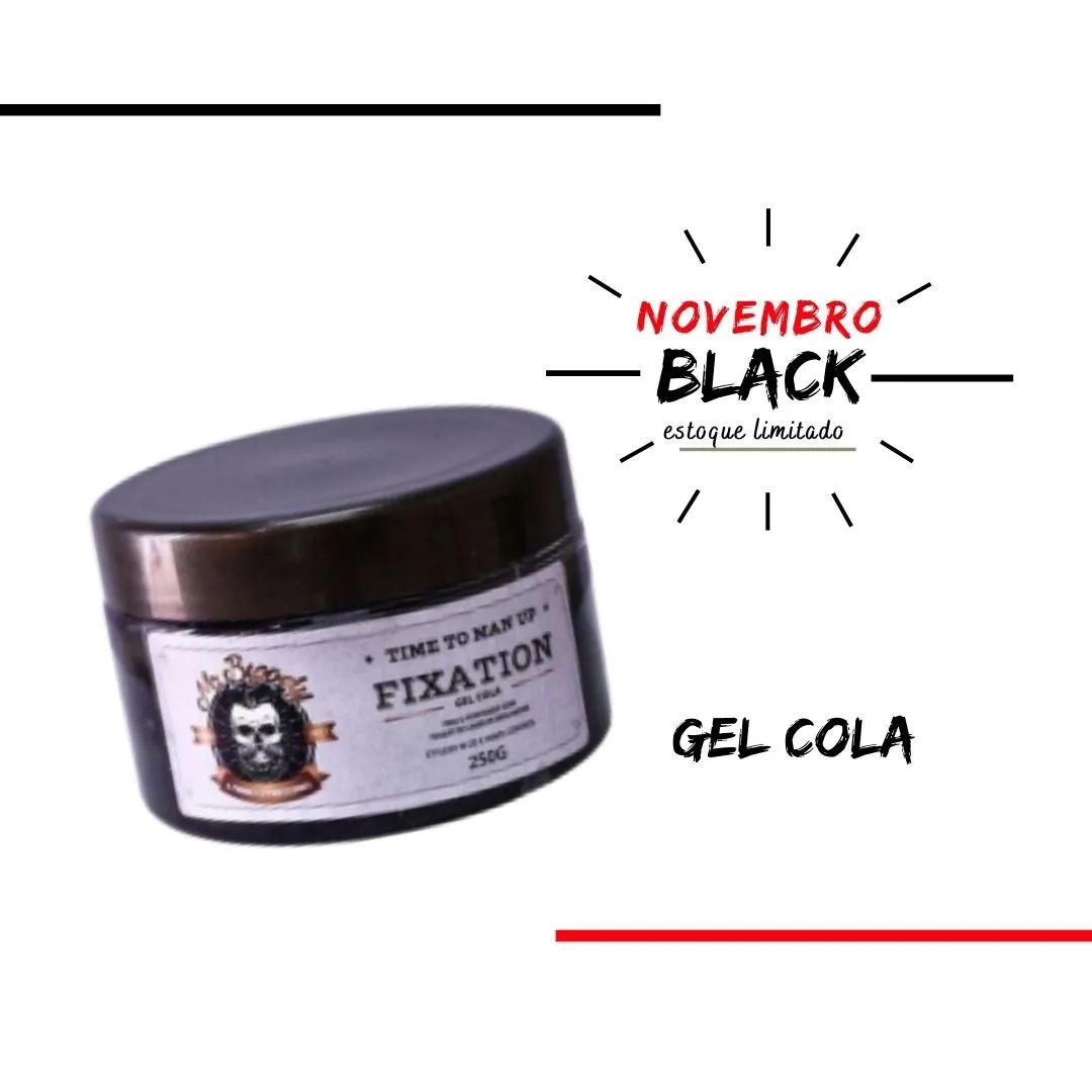 Gel Cola Fixation 250g Time To Man Up - Entrega Imediata.
