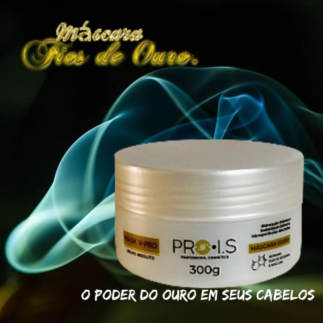 Máscara de Hidratação Morena Iluminada Fios de Ouro  - Envio Imediato.