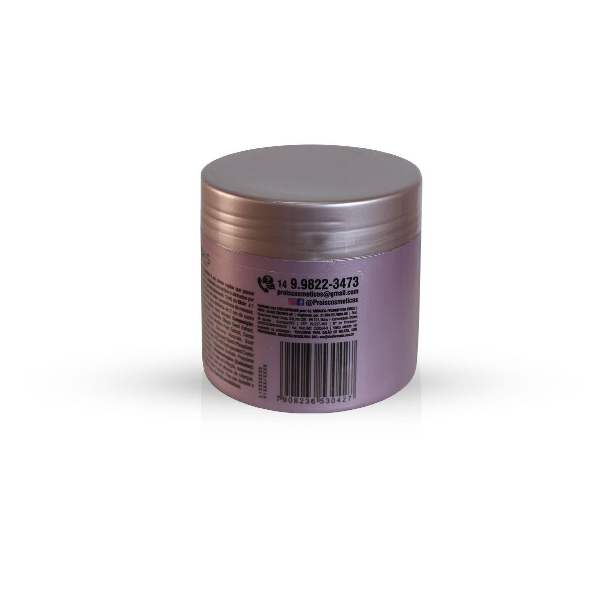Oxitrix + Elixir Mousse de Hidratação Capilar Mix V-Pro Pro I.S