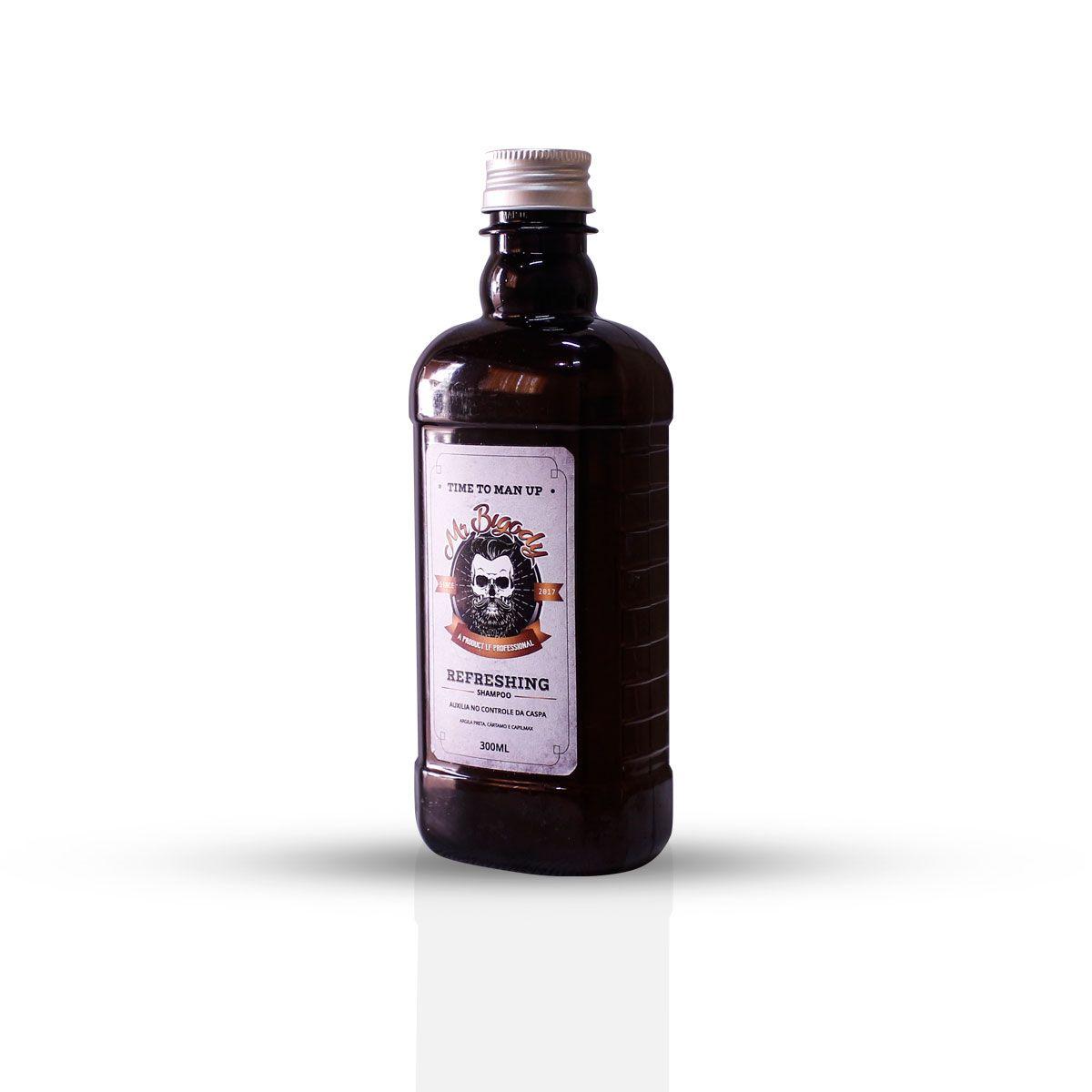 Shampoo para Barba e CABELO - 3em1- 300ml - Entrega Imediata .