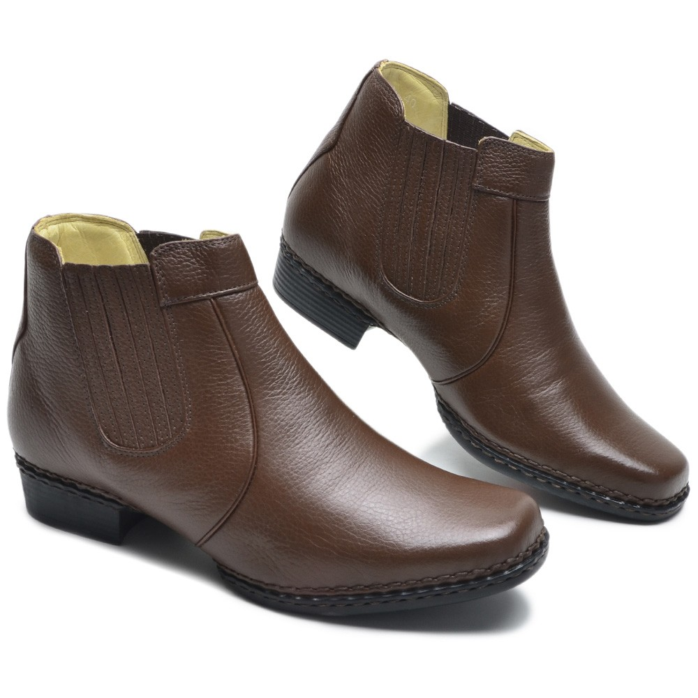 Bota Masculina Country Couro Floater  Chocolate