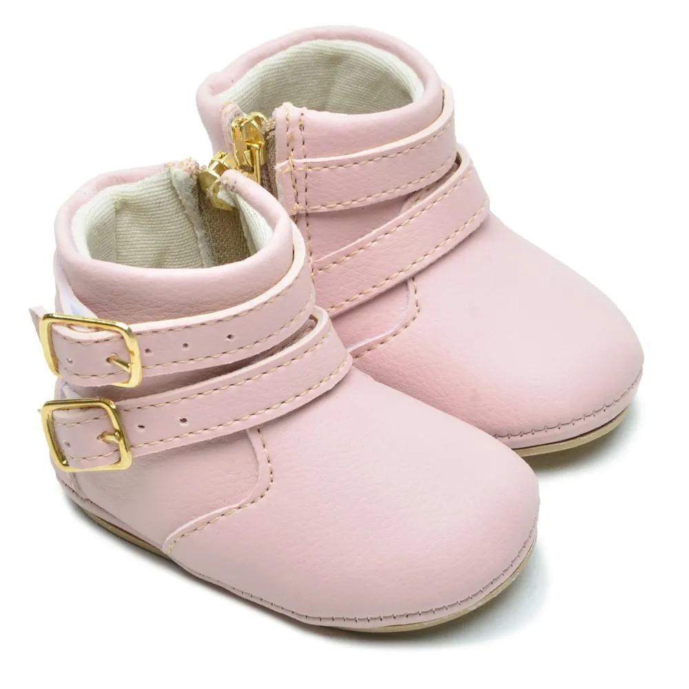 Botinha Bebê Texana Star Rosa