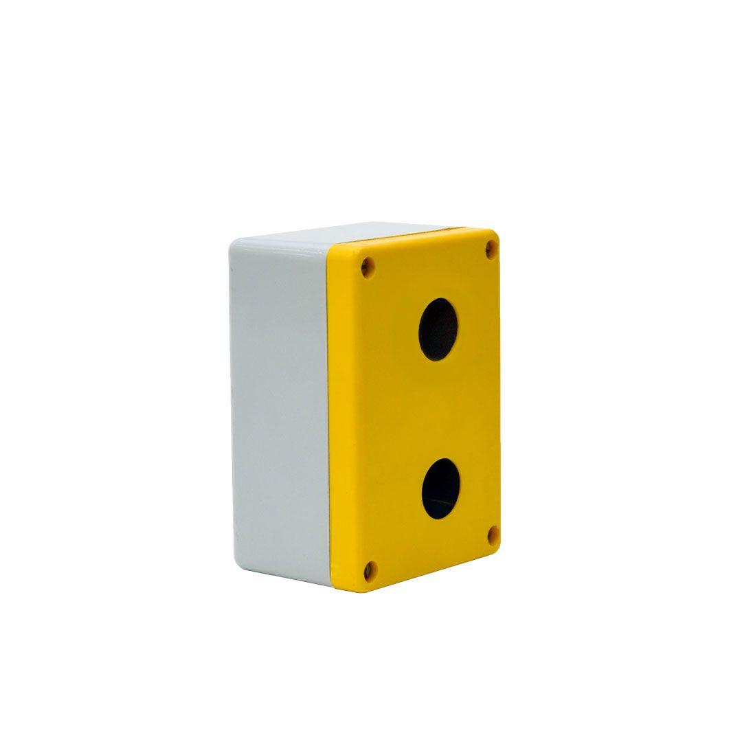 BOTOEIRA PLÁSTICA - MEDIDAS: 123 x 85 x 65mm  - Ø FURO: 23mm - STRAHL 2022