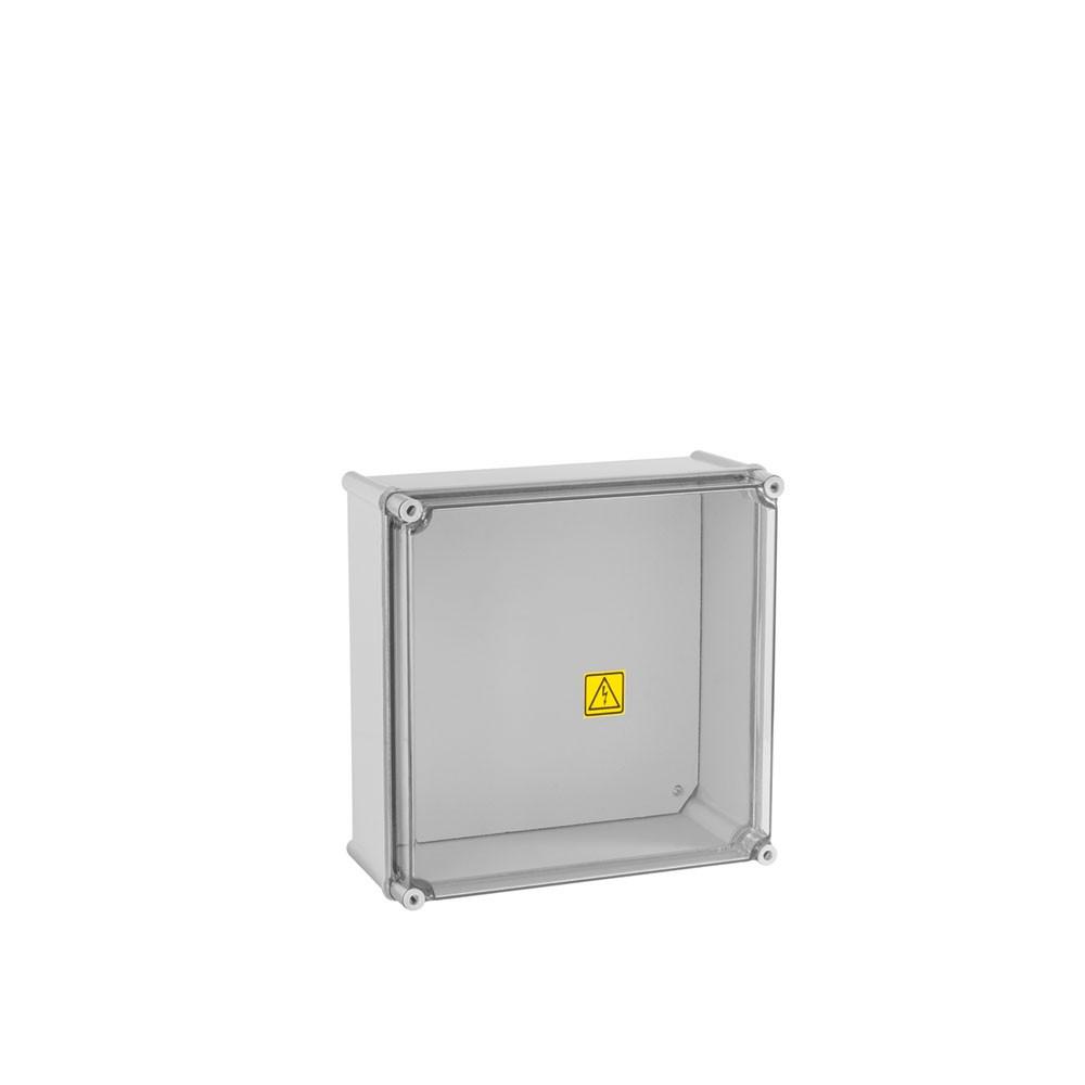 CAIXA MODULAR COM PLACA METÁLICA 360x360x171mm - 3207/MI