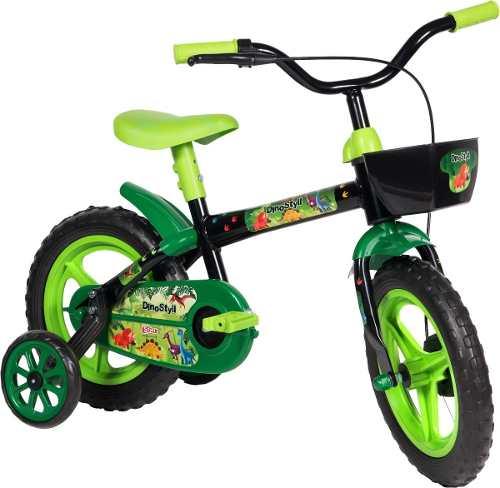 Bicicleta Infantil Styll Kids Dino Aro 12