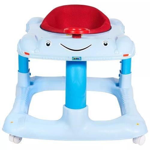 Andador Megaplast Azul Bebê  - Encanto Baby
