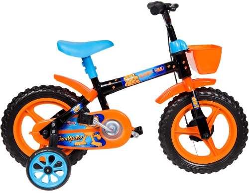 Bicicleta Infantil Styll Kids Garfield Aro 12