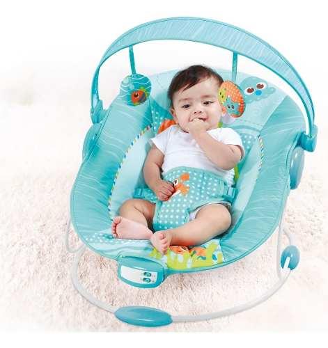 Cadeira De Descanso Reclinável Vibratória E Musical Até 11kg