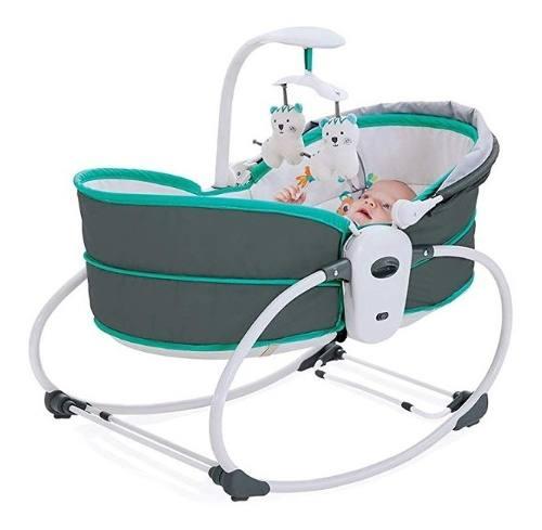 Cadeira De Descanso Mastela 5 Em 1 Verde  - Encanto Baby