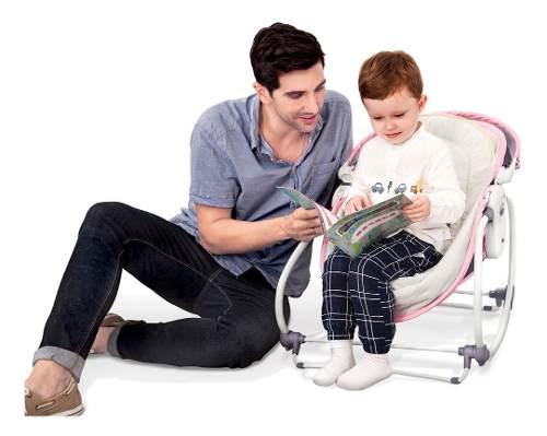 Cadeira De Descanso Mastela 5 Em 1 Rosa  - Encanto Baby