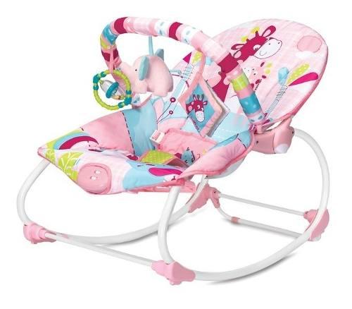 Cadeira De Descanso E Balanço Até 18kg Vibratória E Musical