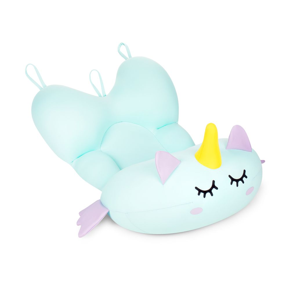 Almofada Para Banho Do Bebê Baby Pil Unicórnio