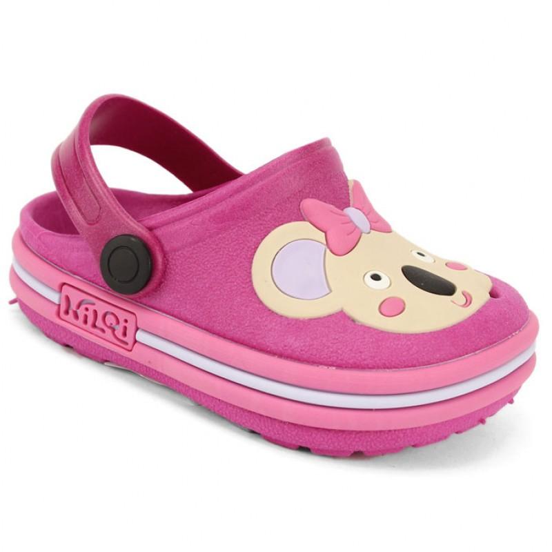 Babuche Infantil Sandália Chinelo Coala Pink