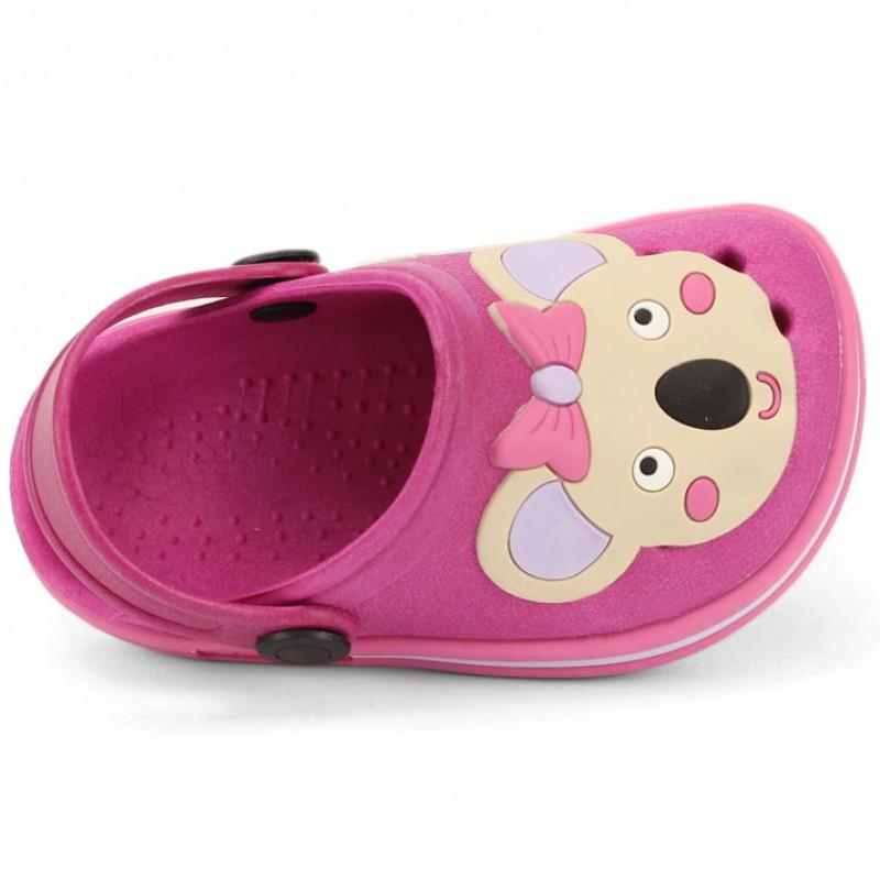 Babuche Infantil Sandália Chinelo Coala Pink  - Encanto Baby