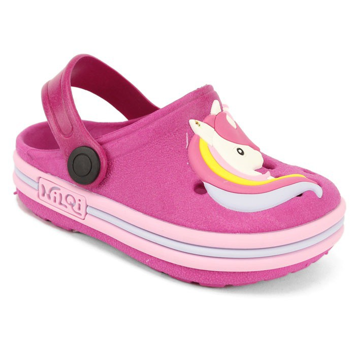 Babuche Infantil Sandália Chinelo Unicórnio Pink